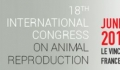 18th International Congress on Animal Reproduction, ICAR